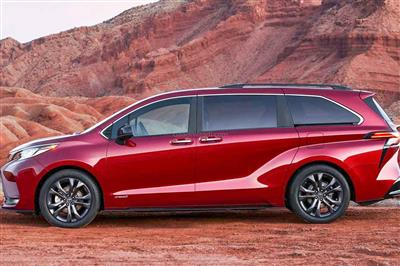 Sienna LE Hybrid (8 Pass) New 2021 Model - 40/37 MPG